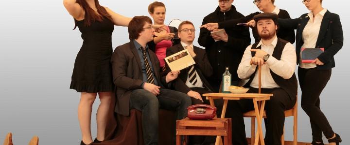 Ein absurd englischer Theaterabend mit ThEO